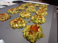 Sisters Do Food and Fitness: Broccoli, Cauliflower, and Zucchini Cakes