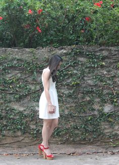 Blog Caca Dorceles. 2014. N°1. Zara Dress + Luiza Barcelos Shoes.
