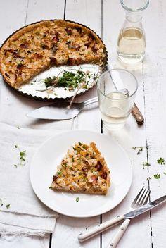Tymiánový quiche s cibulí na víně a medu, Foto: Sweet pixel blog