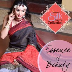Meghdoot Black, Red And Grey Colour Tussar Silk Resham Embroidered Saree RA6749_BLACKxREDxGREY  Feel Beautiful by wearing this comfortable and sober collection, Wear this black, red and grey art tussar silk saree. This zigzag, paisley print and resham embroidery is making this saree looks amazing. Available with matching red art tussar silk unstitched 85cm blouse. Slight variation in color may possible.  Price: Rs2,650   Product Code: RA6749_BLACKxREDxGREY