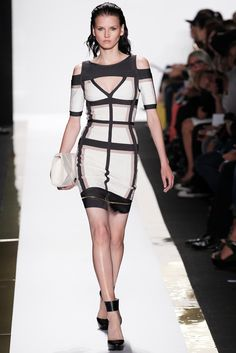 Hervé Léger by Max Azria Spring 2014 Ready-to-Wear - Collection - Gallery - Style.com