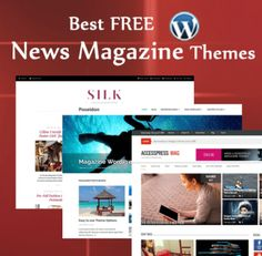 Best FREE WordPress Themes for Magazines and Newspapers...... Instantly create a professional magazine website with ready-made WordPress magazine templates for 2016!