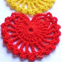 List of free crochet heart patterns and amigurumi heart patterns. Make a heart for valentine's day for the one you love, lots of heart projects...