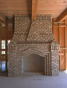 Brick Chimney Tops | ... the middle section of the original W E ...