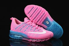 77ac8ac7087 2018 Newest WMNS Nike Air Max 2016 Pink Flash Hyper Teal Pink Fire Blue  Lagoon New
