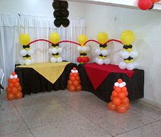1000 images about decoraciones con globos on pinterest - Decoracion de navidad con globos ...