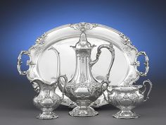 Reed and Barton Francis I  sterling silver tea set
