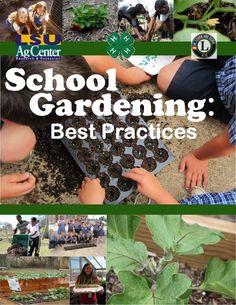 School Gardening Best Practices - 4H