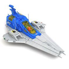 Galactic Explorer Lego Space Sets, Lego Spaceship, Lego News, The Brethren, Space Theme, Lego Moc, Cool Lego, Lego Creations, Legos