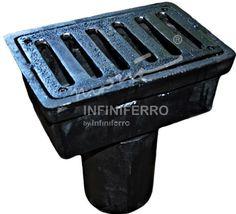 Deck Drain, Cast Iron