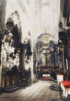 Déambulatoire, Cathédrale de Wawel