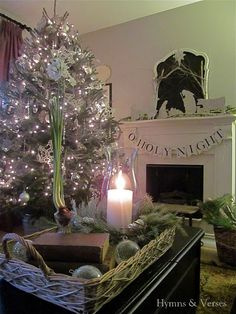 DIY Silhouette Nativity Templates