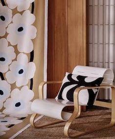 Marimekko fabrics - Buy online from Finnish Design Shop. Discover Unikko and other Marimekko fabrics for a modern home! Design Scandinavian, Marimekko Fabric, Scandinavia Design, Interior Decorating, Interior Design, Design Crafts, Decoration, Cushion Covers, Interior Inspiration