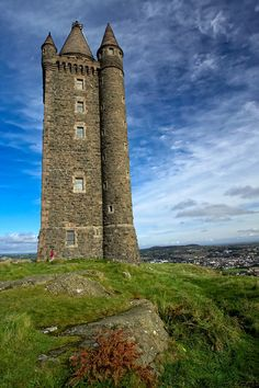 Scrabo Tower.  Very near where my husband's grandfather grew up and raised horses; his ashes were scattered here.