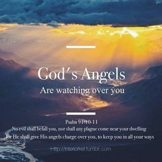 angel quotes from the bible Religious Quotes, Spiritual Quotes, Spiritual Growth, Bible Scriptures, Bible Quotes, Psalm 91, God First, Gods Grace, Faith In God