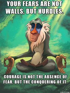 Courage #quotes I wish I would have read this before I took the state writing test......-_-