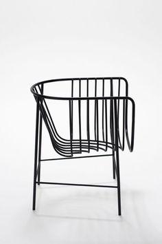 #chairideas #chair #chairdesign #designideas #designideas #chairsdesign #minimalist #chairinspiration #grillage #black #metallic