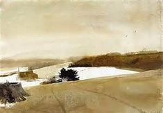 Tracks At Kuerner's by Andrew Wyeth