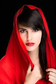 Red by Karen Schmautz Most Beautiful Faces, Beautiful Girl Image, Beautiful Eyes, Beauty Photography, Portrait Photography, Stylish Girl Pic, Girl Photo Poses, Creative Portraits, Woman Face