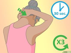 4 Ways to Correct Forward Head Posture - wikiHow Better Posture Exercises, Posture Correction Exercises, Stretches, Cervical Spine Exercises, Neck Exercises, Perfect Posture, Good Posture, Neck And Back Pain, Neck Pain
