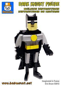 Batman brick figure