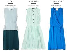 Any of these would be cute bridesmaid dresses, what do you think?