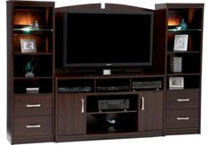 4 Piece Wall Unit -Umber $799.95 at the Brick