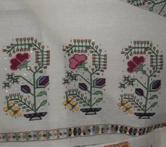 This Pin was discovered by Neş Wool Embroidery, Cross Stitch Embroidery, Embroidery Patterns, Loom Patterns, Knitting Patterns, Print Patterns, Modern Cross Stitch Patterns, Cross Stitch Designs, Drawn Thread