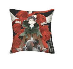 Attack on Titan Pillow Levi Toss Pillow For Sofa