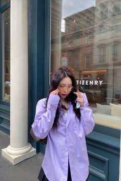 @kryxsoo wearing Preppy Skirt (Black) #newyork #ootd #outfits #shirts #skirts #tennisskirt #preppyskirt #miniskirt #schoolskirt #schoolgirl #nyc Pleated Skirt, Waist Skirt, Preppy Skirt, Indie Outfits, Schoolgirl, Preppy Style, Rain Jacket, Windbreaker, Mini Skirts