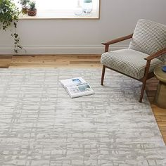 West Elm offers modern furniture and home decor featuring inspiring designs and colors. Create a stylish space with home accessories from West Elm. Room Rugs, Rugs In Living Room, Living Room Decor, Dining Room, Dining Table, West Elm Rug, Mid Century Rug, Reclaimed Wood Beds, Modern Area Rugs