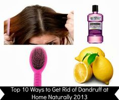 natural dandruff remedies