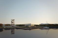 Proposta vencedora para o Centro Cultural de Eventos e Exposições em Cabo Frio / Estúdio 41