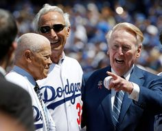 As the Dodgers rebuild their team, Scully embarks on his final season in the broadcast booth. Maury Wills, Sandy Koufax and Vin Scully.