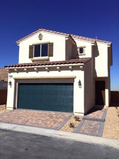 """Harmony Homes - Silhouette **Quick Move-in** -$222,169 -1706 Sq Ft.  -3 Bedroom, 2.5 Baths -Loft -Granite Countertops -Nutmeg Maple Cabinetry -18""""X18"""" Tile flooring all first floor -Ceiling Fan & Cable pre-wire in all  -End of Cul-de Sac location -Brick Paver Drive-Way ***Harmony Incentive- Closing costs paid       with Builders preferred lender plus       Refrigerator, Washer & Dryer***  --Contact Sara at 702-966-6015 Floor Ceiling, Ceiling Fan, New Home Developments, Brick Pavers, New Home Builders, City Living, Washer And Dryer, Granite Countertops, New Homes"""