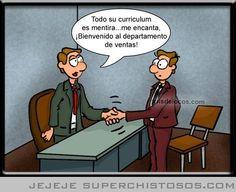 Entrevista de trabajo - Humor gráfico #empleo