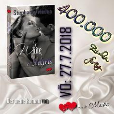Yeah!  Schon 400.000 Zeichen sind geschrieben und korrigiert. 😎 Das Ende zieht. Die Spannung steigt. Die Figuren leben! I ❤ it! ... nur noch 20 % zu schreiben. Schon vorbestellbar: www.amazon.de/White-Secrets-Stephanie-Madea-ebook/dp/B07CQGVKMC/ #whitesecrets #stephaniemadea #romance