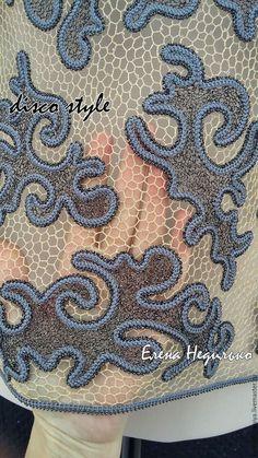 Baby Cardigan Knitting Pattern, Knitting Patterns, Crochet Patterns, Russian Crochet, Irish Crochet, Crochet Flowers, Crochet Lace, Lacemaking, Crochet World