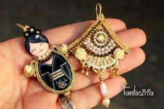Fantasiria jewelry OOAK on Etsy