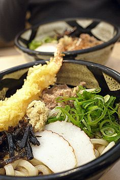 Tasty Udon served with Tempura!...Udon by Giovanni Go