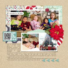 Daily Life Week 51 {right} Daily Life Templates 13 by Srapping with Liz Everyday Life Bundle by Juno Designs Must Watch Templates by Scrapping with Liz