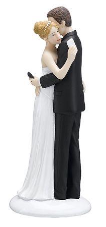 Cake Topper Smart Phone Un simpatico cake topper di due sposini che inviano un messaggio durante il loro giorno del matrimonio. - MATRIMONIO, Cake Topper, Spiritosi -   Questo spiritoso cake topper è caratterizzato da due sposi che durante il loro primo   ballo di nozze non smettono di controllare il telefonino!       Realizzato in resina dipindo a mano.       Misure: H 16,5 cm         -http://www.dettagliperfetti.com/spiritosi/5281-Cake-Topper-serie-Phone.html -torta, phone -€ 25.98