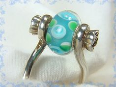 Whimsy  FREE Pandora Bead  Sterling Silver Art by FindMeTreasures