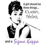 Proud to be a Sigma Kappa Sister :)
