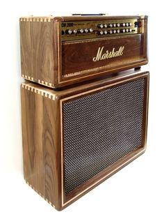 Ashen Amps Custom Boutique Guitar Cabinet amplifier Marshall set Guitar Rig, Cool Guitar, Music Guitar, Marshall Guitar, Diy Guitar Amp, Amp Settings, Guitar Cabinet, Valve Amplifier, Diy Speakers