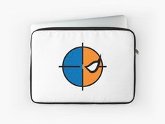 Deathstroke emblem laptop sleeve by kirkdstevens on redbubble - $35
