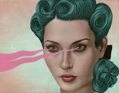 """""""Spellbinder 1"""" for the Love in Small Doses show at http://flower-pepper.com"""