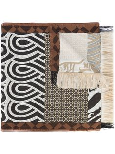 Etro patchwork scarf