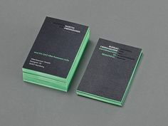 Bureau Oberhaeuser Businesscards   Business Cards   The Design Inspiration