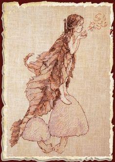 Coprins des Fees (Coprini Fairies) - Cross Stitch Pattern